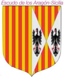 Escudo de los Aragón-Sicilia