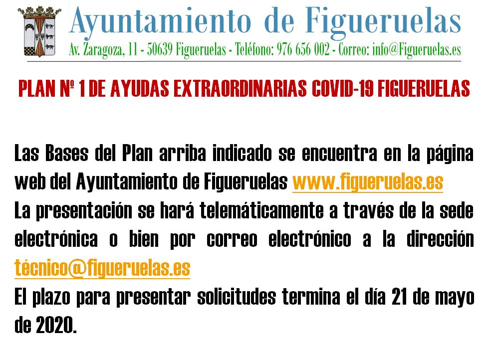 AYUDAS EXTRAORDINARIAS COVID19